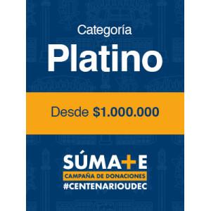 C.- Donación Centenario - Categoría Platino