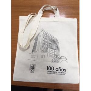 Bolso Tetebag Tela Crea Diseño Ed. Gustavo Pizarro 33x43 cm