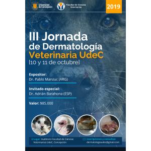 III Jornada De Dermatología Veterinaria