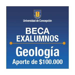 Beca Exalumnos de Geología $100.000.-