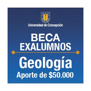 Beca Exalumnos de Geología $50.000.-