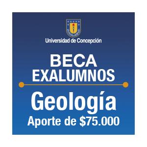 Beca Exalumnos de Geología $75.000.-