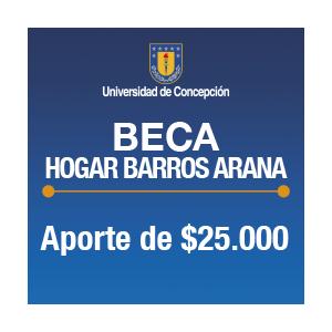 Beca Hogar Barros Arana $25.000.-