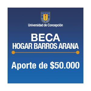 Beca Hogar Barros Arana $50.000.-