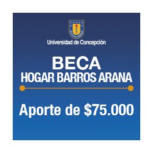 Beca Hogar Barros Arana $75.000.-