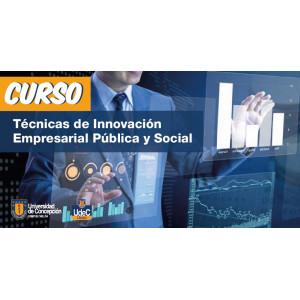 Curso Técnicas de Innovación Empresarial Pública y Social