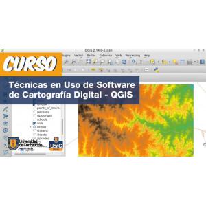 Curso Técnicas en Uso de Software Categoría Digital - QGIS