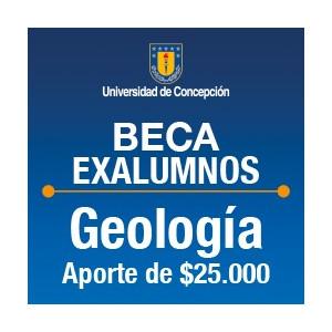 Beca Exalumnos de Geología $25.000.-