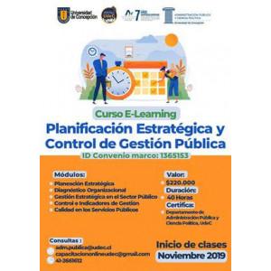 Curso E-Learning Planificación Estratégica III 2019