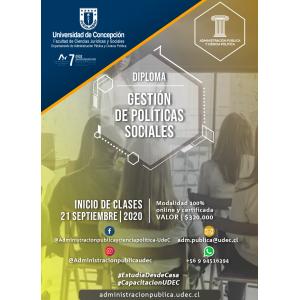 Diploma en Gestión de Políticas Sociales 2020