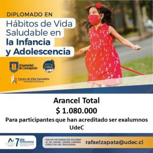 ARANCEL DIPLOMADO HABITOS DE VS INF. Y ADOLESC. CON 10% DSCTO AÑO 2020