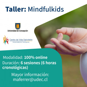 Taller online Minduflness para niños de 8 a 11 años: Mindfulkids