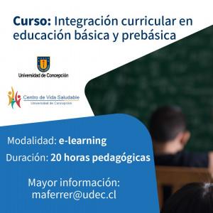 Curso Integración curricular online
