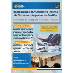 Matricula Diplomado Implementacion y Auditoria de Sistemas Integrados de Gestion v2021