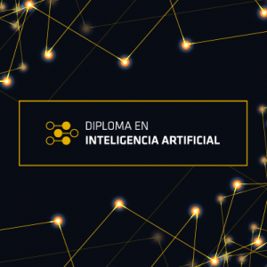 Diploma en Inteligencia Artificial (online), valor con 25% descuento todo público (abono...