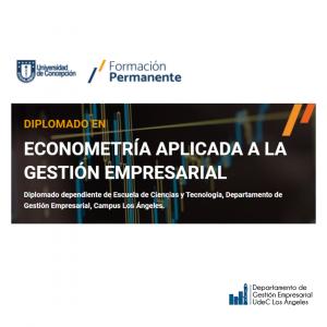 Matricula Diplomado Econometria Aplicada a la Gestion Empresarial V2021