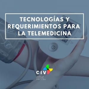 Curso Tecnologías y Requerimientos para Telemedicina, valor con descuento 10% funcionarios,...