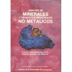 Análisis de minerales y productos industriales no metálicos