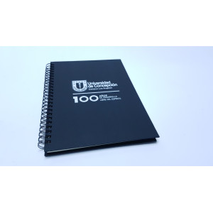 Cuaderno Ecologico con Tapa Dura de Carton Reciclado