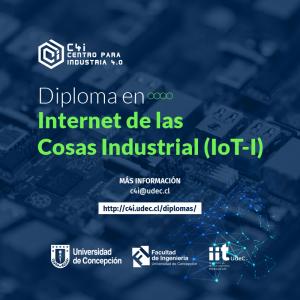 Diploma en IoT-I: Internet de las Cosas Industrial (online), valor con 20% descuento Ex Alumnos...